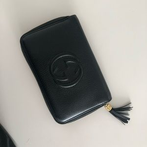 Gucci Black Leather Waller